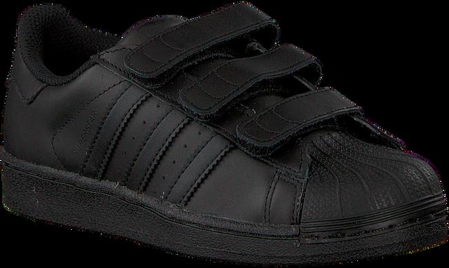 Schwarze ADIDAS Sneaker SUPERSTAR FOUNDATION - large