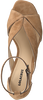 Taupe LOLA CRUZ Sandalen 185Z10BK  - small