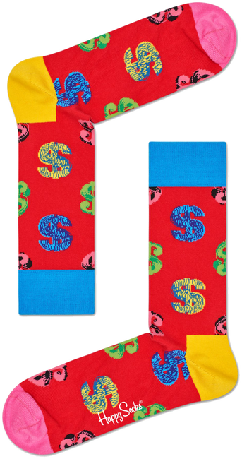 HAPPY SOCKS Socken ANDY WARHOL DOLLAR - large