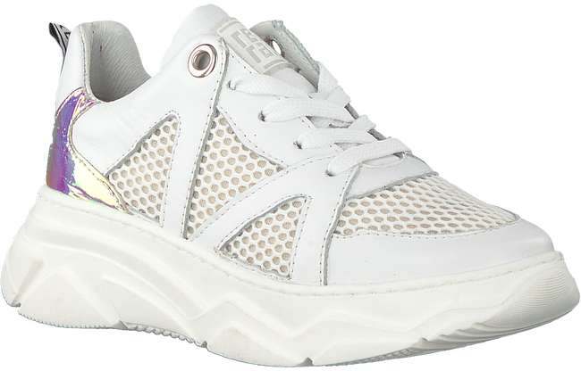 Weiße RED-RAG Sneaker low 13264  - large