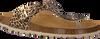 Goldfarbene DEVELAB Sandalen 48202 - small