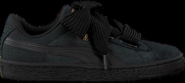 new styles aa53d 6ec9e Schwarze PUMA Sneaker BASKET HEART PERF GUM WMN - Omoda