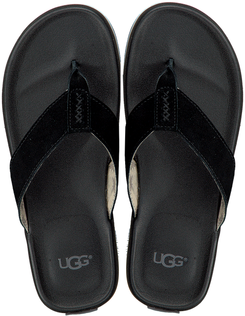 Black UGG shoe BEACH FLIP  - large