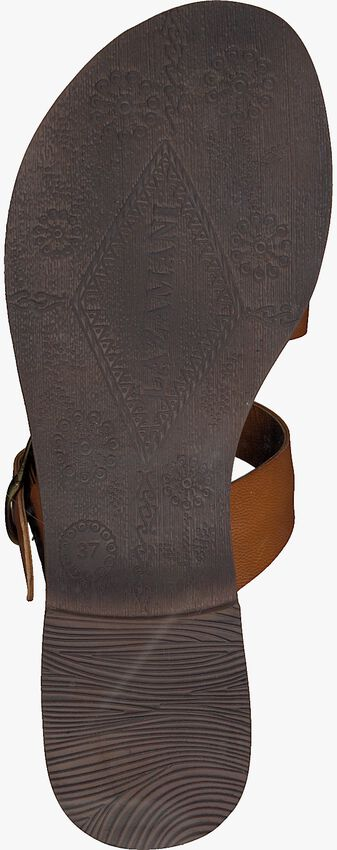 Braune LAZAMANI Pantolette 75.608  - larger