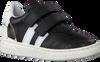Schwarze PINOCCHIO Sneaker low P1324  - small