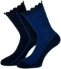 Blaue MARCMARCS Socken AMY COTTON 2-PACK - small