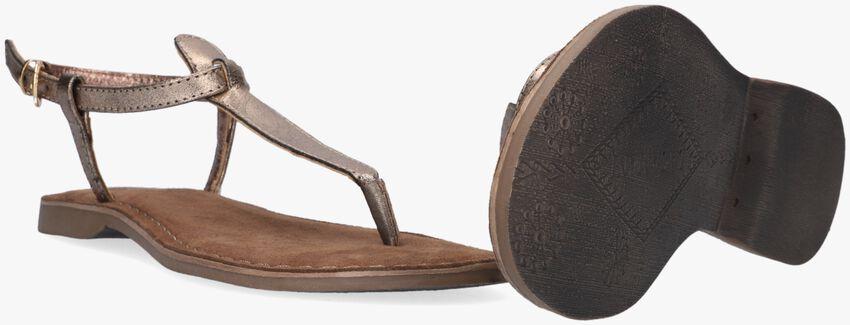 Bronzefarbene LAZAMANI Sandalen 75.422 - larger