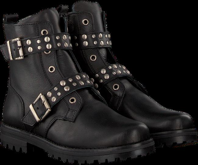 Schwarze SIMONE MATHIEU Biker Boots 3340 - large