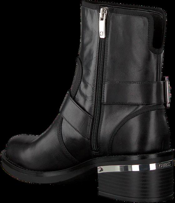 Schwarze GUESS Ankle Boots FLFII4 LEA10 - large