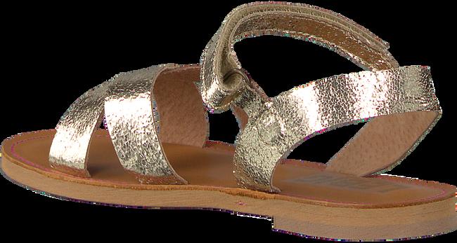 Goldfarbene LE BIG Sandalen NOX SANDAL - large