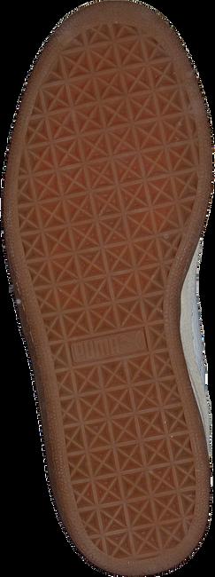 Weiße PUMA Sneaker BASKET CLASSIC GUM DELUXE JR - large