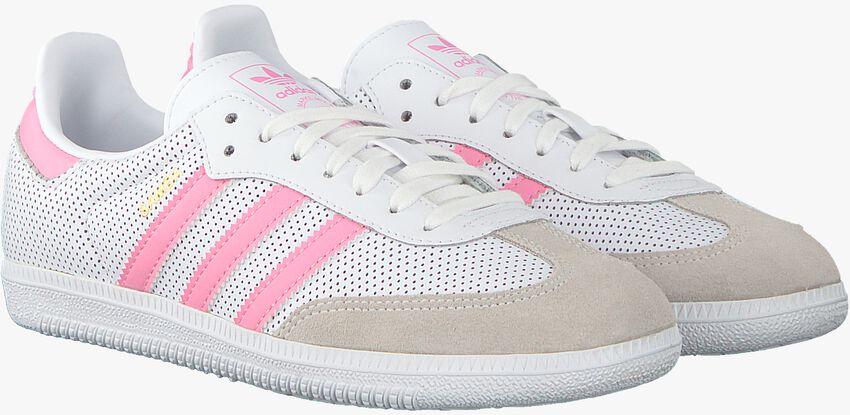 Weiße ADIDAS Sneaker SAMBA OG J  - larger