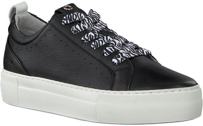 Schwarze RED-RAG Sneaker low 74308  - large