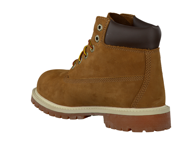 Camelfarbene TIMBERLAND Ankle Boots 6IN PRM WP BOOT KIDS - large