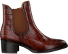 Cognacfarbene GABOR Chelsea Boots 650  - small