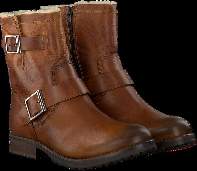 Cognacfarbene OMODA Biker Boots 25606 - large