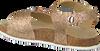 Goldfarbene DEVELAB Sandalen 48020 - small