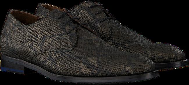 Grüne FLORIS VAN BOMMEL Business Schuhe 18124  - large