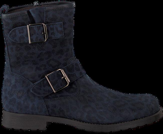 Blaue CLIC! Biker Boots 8383 - large