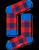 Rote HAPPY SOCKS Socken LUMBERJACK - small