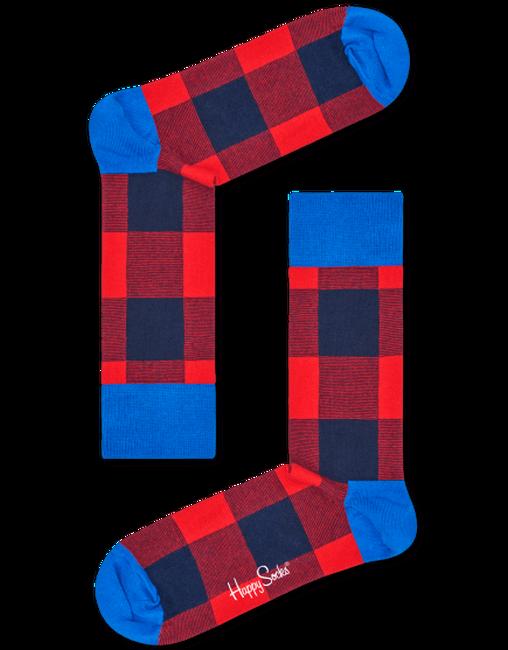 Rote HAPPY SOCKS Socken LUMBERJACK - large