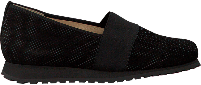 Schwarze HASSIA Slipper 1654 - large