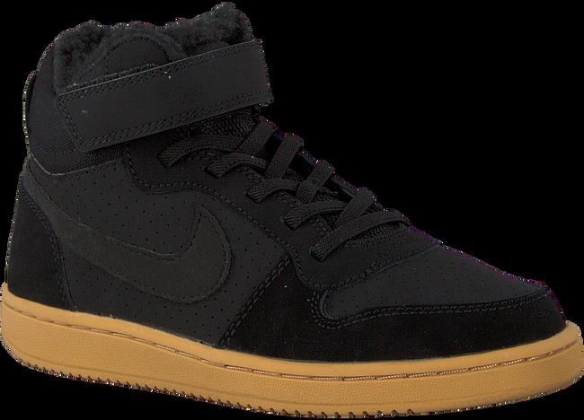 Schwarze NIKE Sneaker COURT BOROUGH MID WINTER KIDS - large