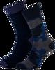 Blaue MARCMARCS Socken MM DOMINIC COTTON 2-PACK - small