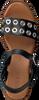 Schwarze RED-RAG Sandalen 79252  - small
