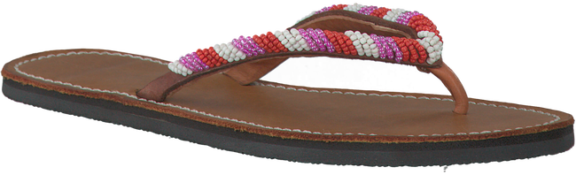 Mehrfarbige/Bunte OMODA KUBUNI Zehentrenner SLIPPER SIMPLE - large