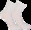 Silberne MARCMARCS Socken BLACKPOOL - small