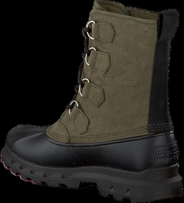 Grüne SOREL Ankle Boots PORTZMAN CLASSIC WATERPROOF - large