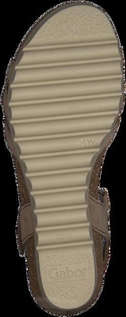 Braune GABOR Sandalen 661.1  - large