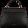 Schwarze COCCINELLE Handtasche MARVIN 1803  - small