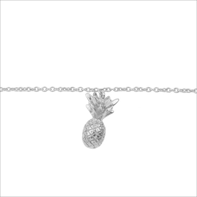 Silberne ALLTHELUCKINTHEWORLD Armband SOUVENIR BRACELET PINEAPPLE - large