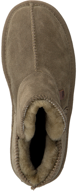 Grüne WARMBAT Hausschuhe WILLOW WOMEN SUEDE - large
