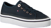 Blaue TOMMY HILFIGER Sneaker CORPORATE FLATFORM SNEAKER  - small