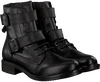 Schwarze OMODA Biker Boots 182K SOLE KIRA - small