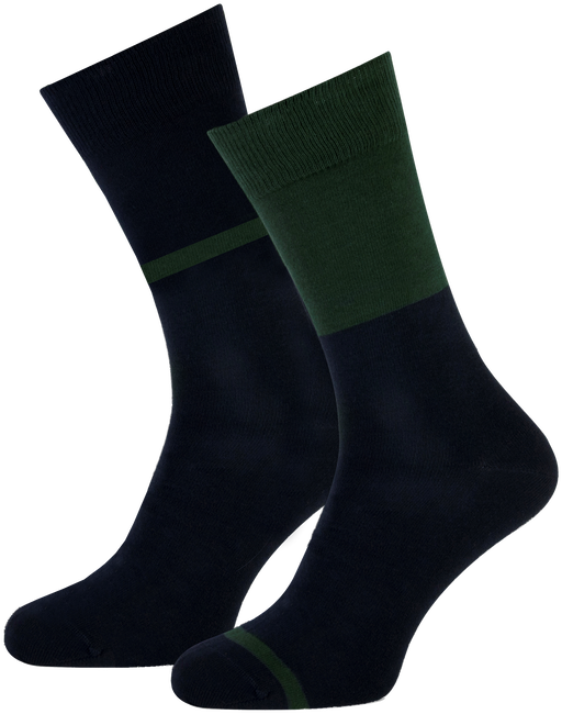 Blaue MARCMARCS Socken ALLARD COTTON 2-PACK - large