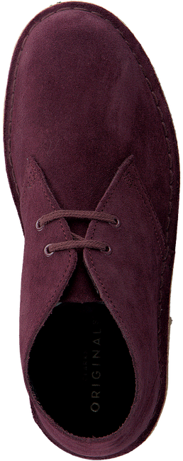 Rote CLARKS Schnürboots DESERT BOOT DAMES - large