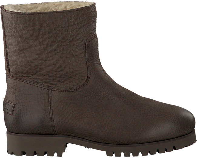 Braune SHABBIES Ankle Boots 181020072 - large
