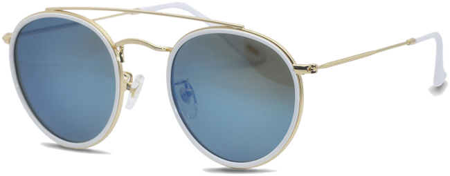 Weiße IKKI Sonnenbrille RYDER - large