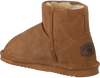 Cognacfarbene WARMBAT Hausschuhe WALLABY WOMEN SUEDE - small