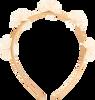 Goldfarbene LE BIG Stirnband ROSANNE HEADBAND  - small