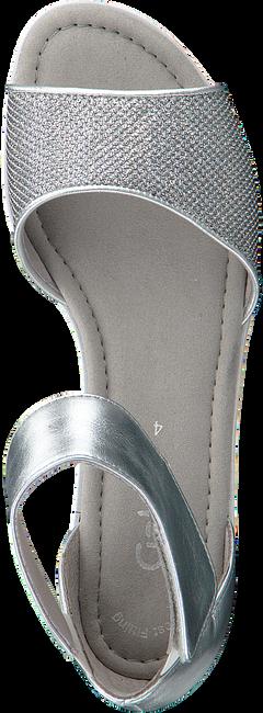 Silberne GABOR Sandalen 571 - large