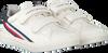 Weiße TOMMY HILFIGER Sneaker low LOW CUT VELCRO SNEAKER  - small