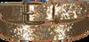 Goldfarbene LE BIG Gürtel SANDRA BELT  - small