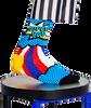 Blaue HAPPY SOCKS Socken SUPER DAD  - small