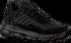 Schwarze RED-RAG Sneaker low 13483  - small