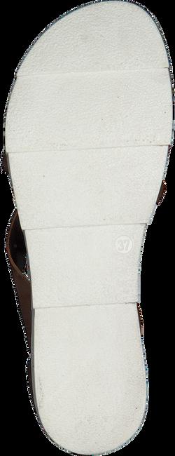Cognacfarbene OMODA Sandalen 740020  - large